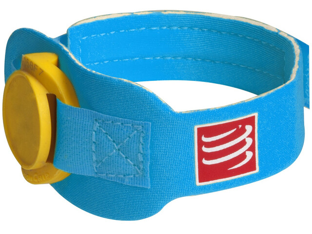 Compressport Timing Chipband, ice blue